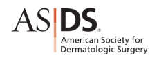 American Society for Dermatologic Surgery Stamp